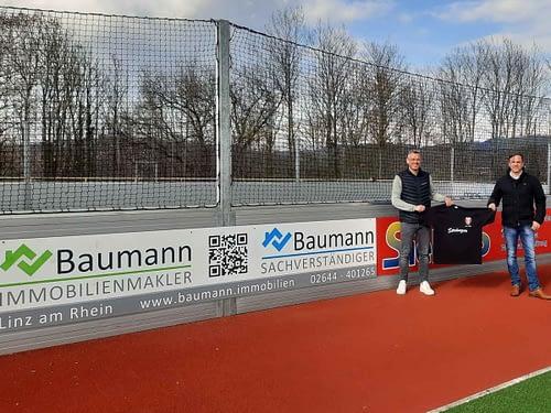 Immobilien Baumann neuer Sponsor beim VfB