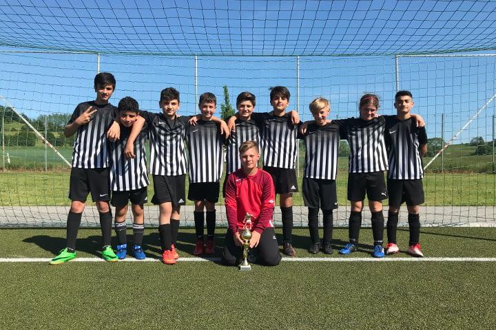 Zweiter Platz für JSG Linz D2-Junioren beim Turnier in Guckheim