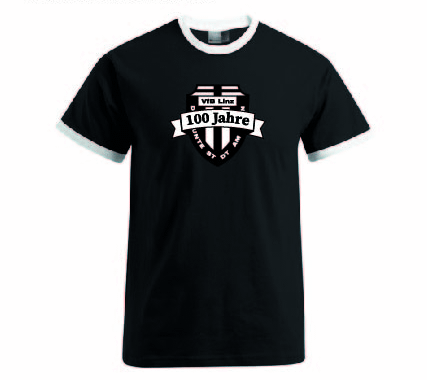 VfB Linz - 100 Jahre Fankollektion - T-Shirt schwarz E3070