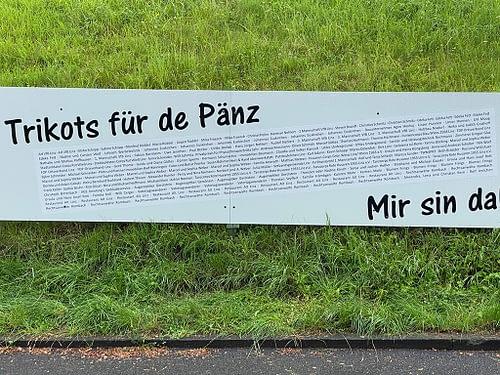 """""""Trikots für de Pänz"""" Aktion erfolgreich"""