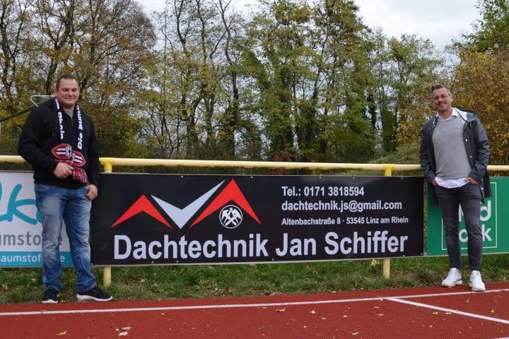 Neuer Sponsor Jan Schiffer