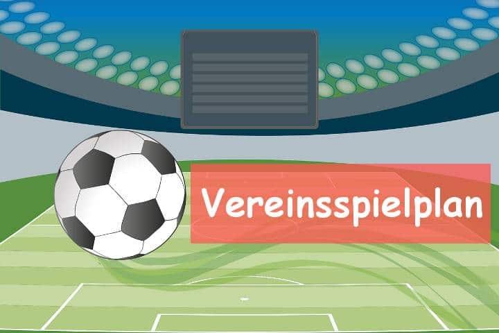 Vereinsspielplan des VfB Linz