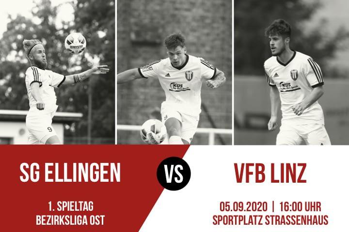 Spielankündigung SG Ellingen - VfB Linz