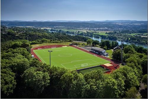 Öffnung des Sportgeländes