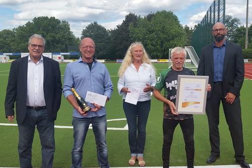 Besuch der Präsidentin des Sportbundes Rheinland