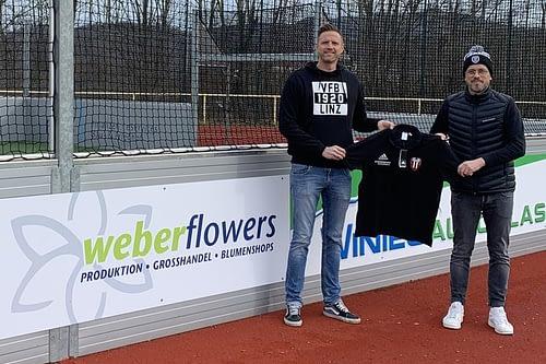 Weber Flowers mit neuer Werbebande