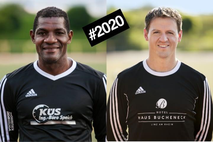 Das neue Trainergespann der II. Mannschaft des VfB Linz in der Saison 2019/2020