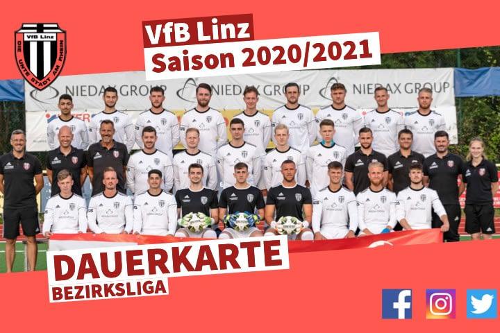 VfB Linz Dauerkarte - Saison 2020/2021