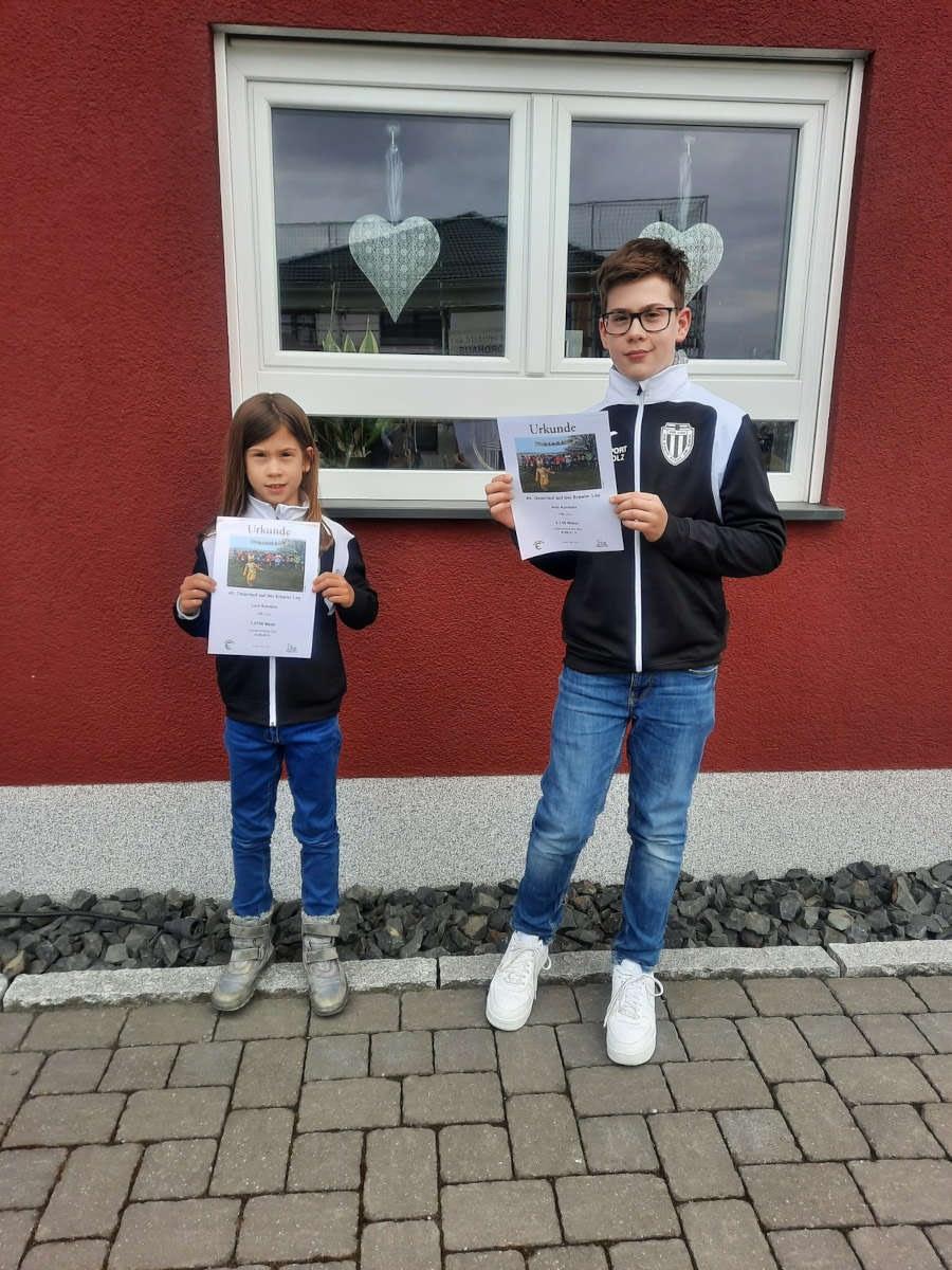 VfB Linz beim virtuellen Osterlauf 2021