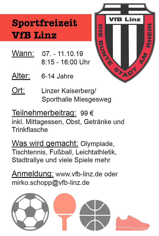 Sportfreizeit Herbst 2019
