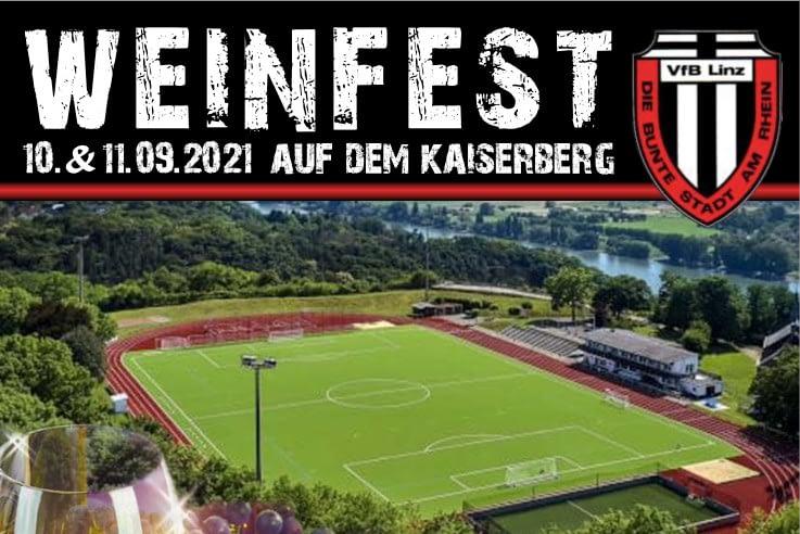 Weinfest auf dem Kaiserberg am 10. & 11. September 2021