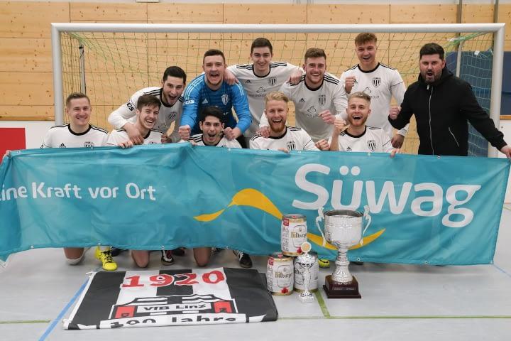 VfB Linz - Sieger des Seniorenturniers beim Süwag Hallencup 2020