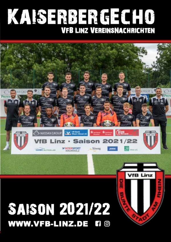 VfB Linz Stadionheft Kaiserbergecho - Saison 2021/2022