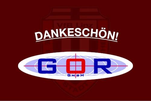 GOR GmbH sponsert VfB Linz