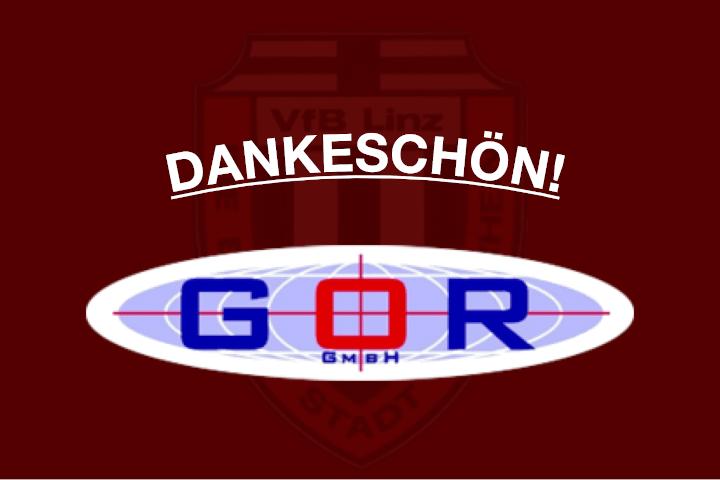 Dankeschön der GOR GmbH