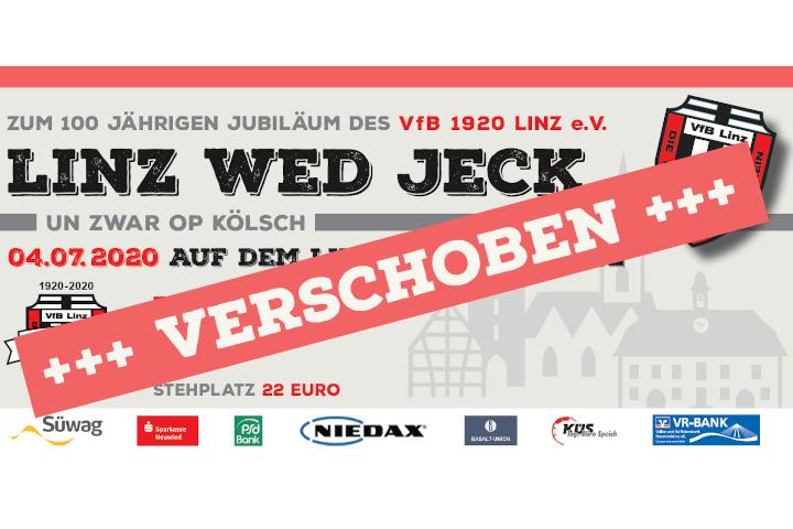 """Linz wed jeck"" wird verschoben"