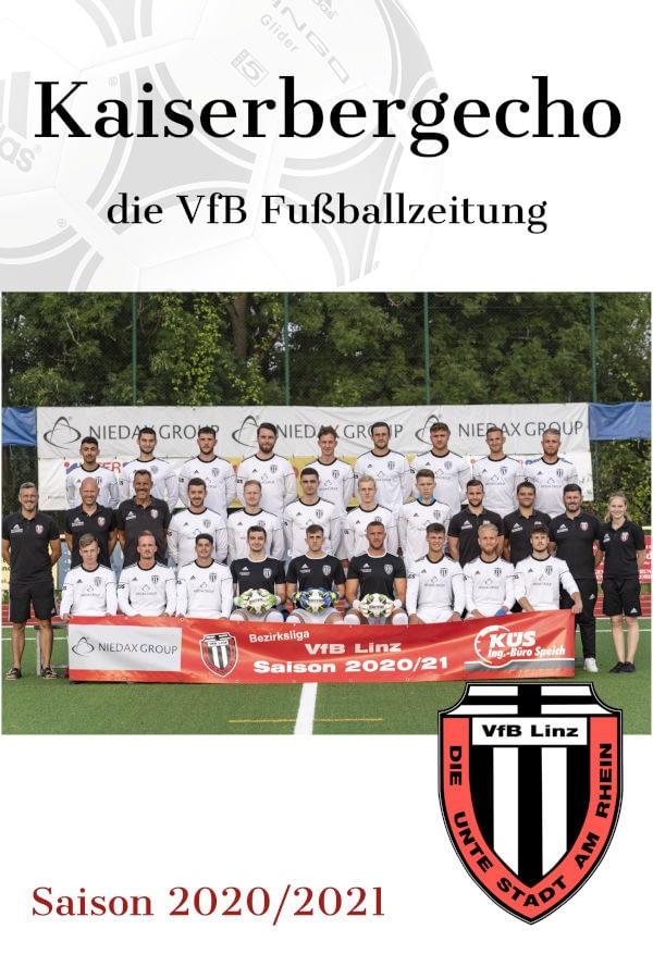 VfB Linz Stadionheft Kaiserbergecho - Saison 2020/2021