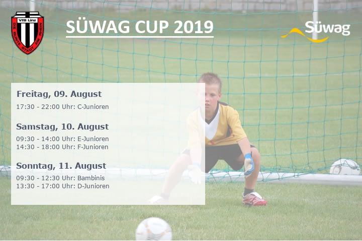 Turnierplakat Süwag-Cup 2019