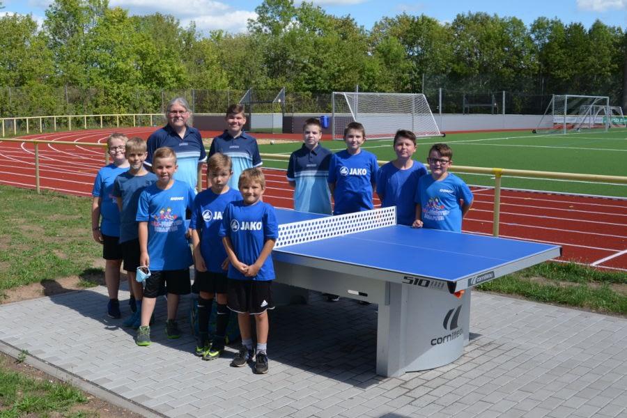 Die Tischtennisabteilung des VfB Linz
