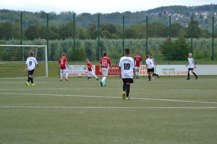C1-Junioren der JSG Linz im Spiel gegen die JSG Remagen
