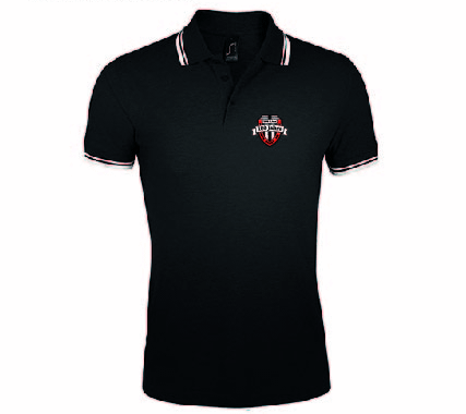 VfB Linz - 100 Jahre Fankollektion - Polo Shirt schwarz L591